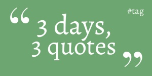 3days3quotessum