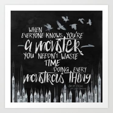 six-of-crows-monster-prints